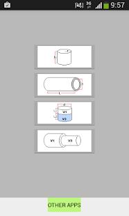 Tube Volume Calculator AD FREE - náhled