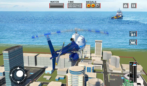 Heli Ambulance Rescue Team 3D Helicopter Simulator  screenshots 18