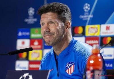 L'UEFA a rendu son verdict pour le geste de Diego Simeone