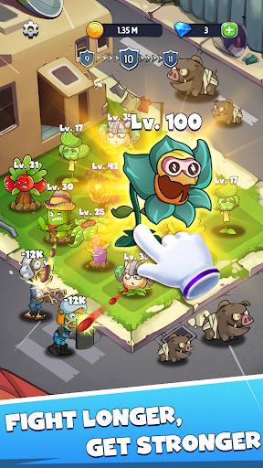 Merge Plants: Zombie Defense apkmr screenshots 5