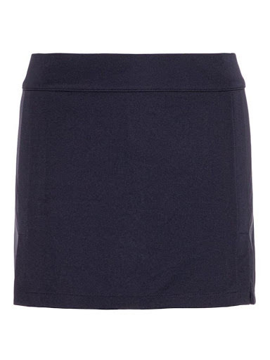 J Lindeberg W Amelie TX Jersey Skirt Navy