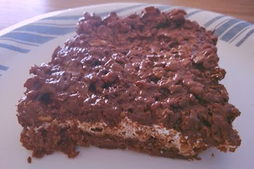 Chocolate Peanut Butter Rice Krispies Brownie Bomb Recipe