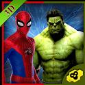 Futuristic Monster Superhero : Super battle icon