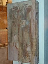 Photo: Namaak deur van het Mausoleum van Ghirza uit de 4de eeuw