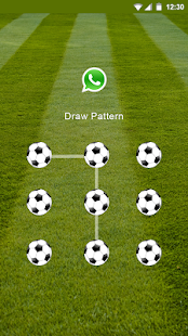 AppLock Theme for Football screenshot
