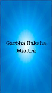 Garbha Raksha Mantra गर्भ रक्षा मंत्र - náhled
