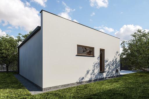 projekt G355 - Budynek garażowo-gospodarczy