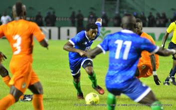 Photo: Michael Lahoud   [Leone Stars v Ivory Coast, 6 September 2014 (Pic © Darren McKinstry / www.johnnymckinstry.com)]