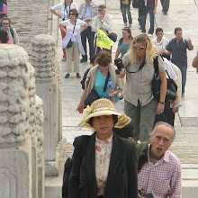Photo: Day 190 - Dee in  the Forbidden City