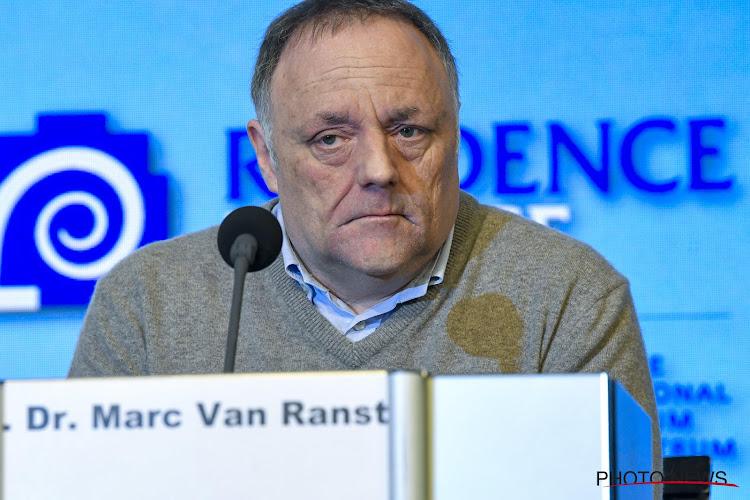Marc Van Ranst is kristalhelder, enkel deze wedstrijd lijkt Corona-virus nog te kunnen overstijgen dit seizoen