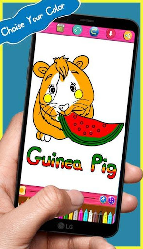 Download Guinea Pig Coloring Books Paintbook Free For Android Guinea Pig Coloring Books Paintbook Apk Download Steprimo Com