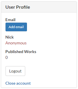 Pholody user profile page screenshot
