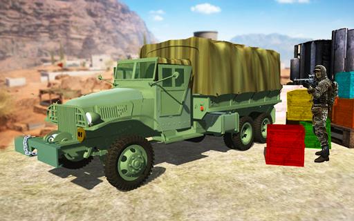 Conducteur de camion de transport de l'armée:  captures d'écran 1