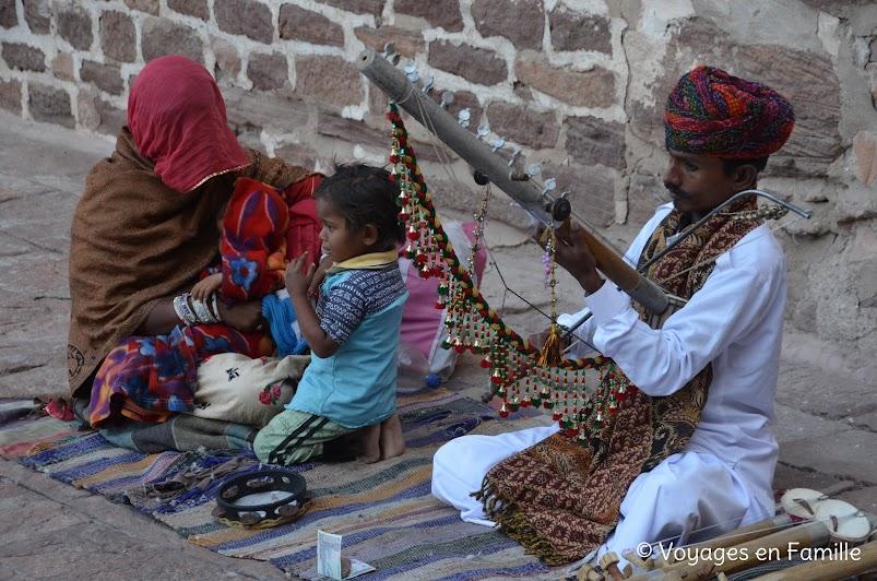 Mehrangarh musician