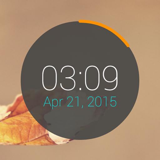 Circle Clock Widget