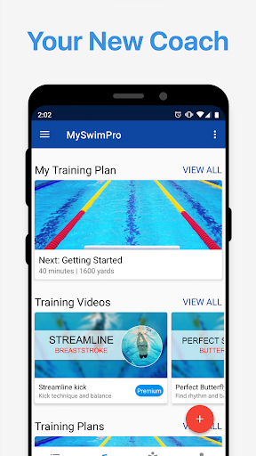 MySwimPro Swim Workouts, Training Plans & Tracking 5.0.56 screenshots 1