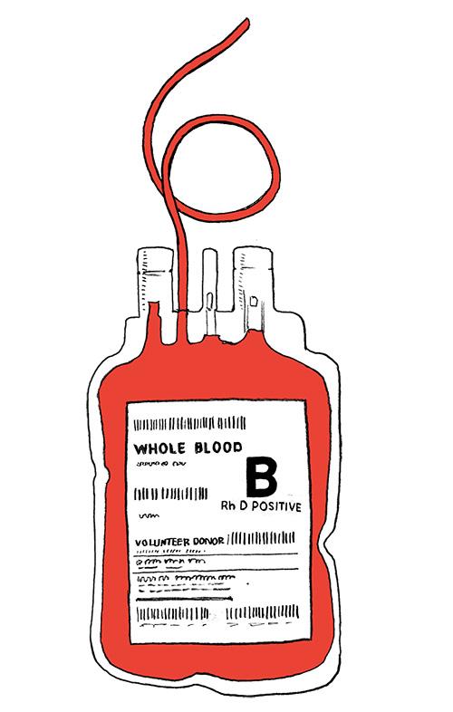 Seis semanas: la vida útil de la sangre donada.