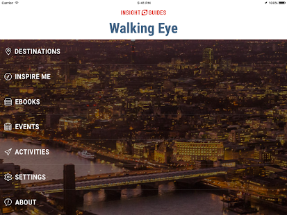 Insight Guides Walking Eye screenshot