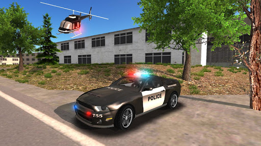 Police Car Driving Offroad 2 screenshots 5