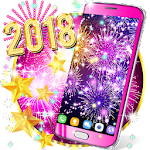 Happy new year 2018 live wallpaper Icon