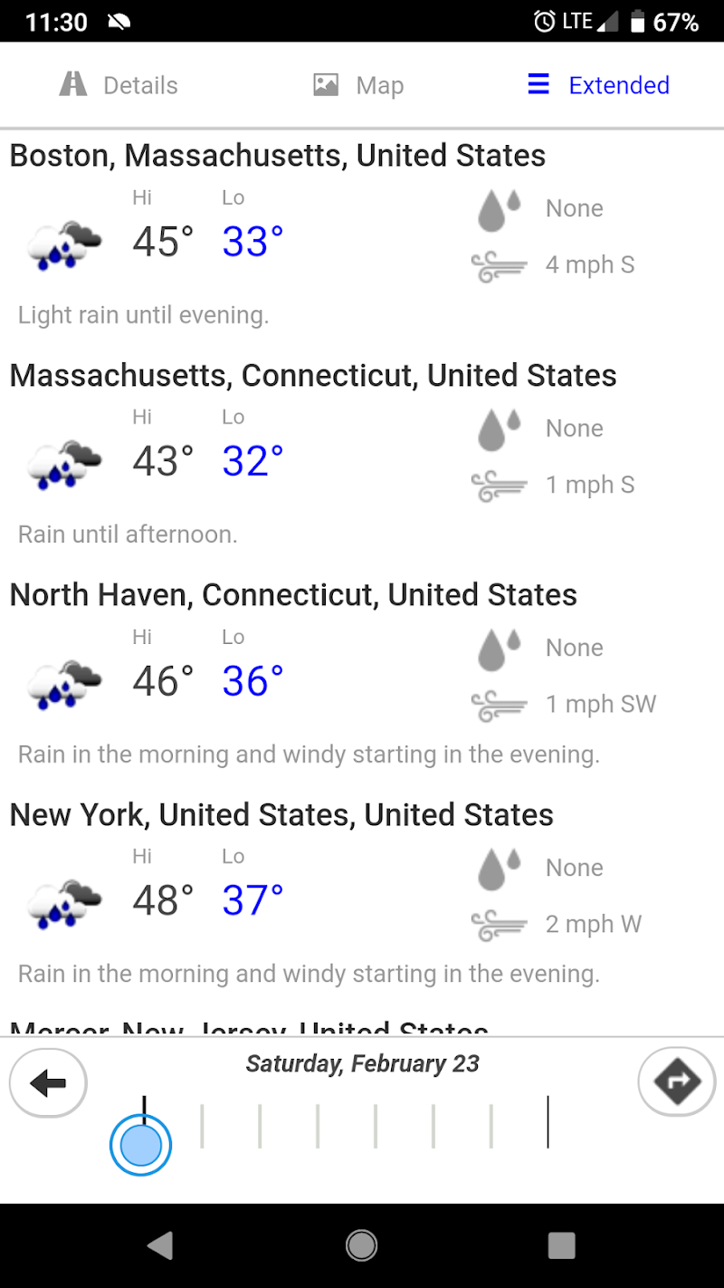 Highway Weather Screenshot 3