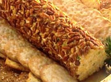 Cheddar Cheese Bacon Log