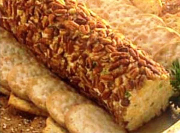 Cheddar Cheese Bacon Log Recipe
