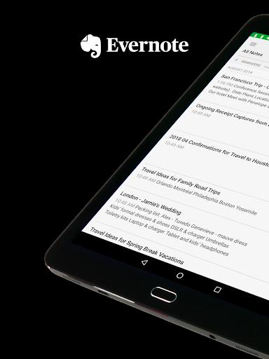 Evernote screenshot 9