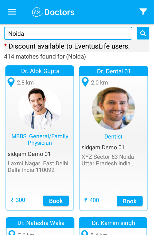 EventusLife- screenshot