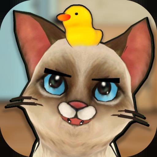 Macho Cat : Pat the Virtual Cat