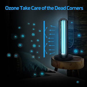 Lampa bactericida UVC cu OZON, pentru sterilizare, 36W