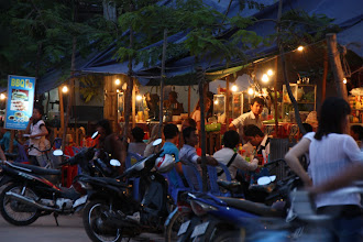 Photo: Year 2 Day 43 - Night Food Stalls in Siem Reap