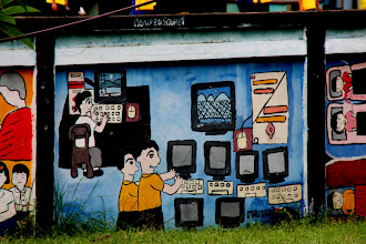 Photo: Day 334  - Mural on a Wall Outside a School #2