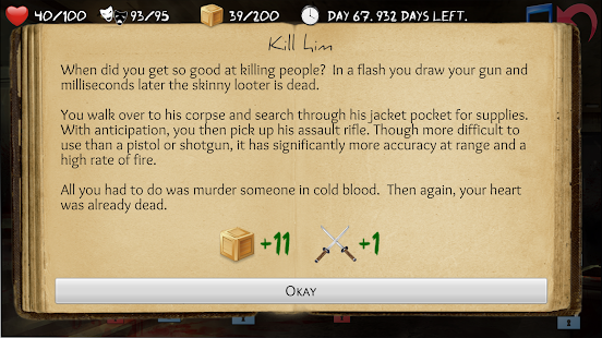 Overlive: A Zombie Survival Story and RPG- screenshot thumbnail