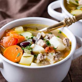 Classic Ministrone Soup Recipe