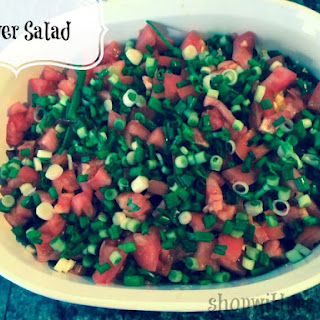 Easy And Delicious 7 Layer Salad #Recipe