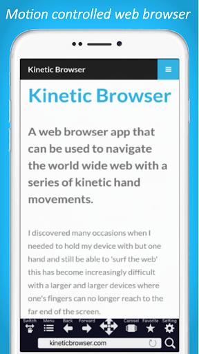 Kinetic Browser  screenshots 1
