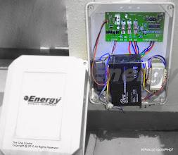 Photo: Control Box : Panel , Receiver , Battery , Transformer