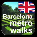 Barcelona Metro Walks - EN icon