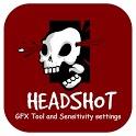 Headshot GFX Tool and Sensitivity settings Guide icon