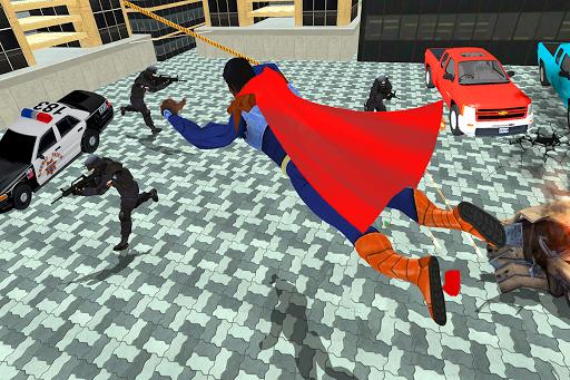 Black Rope Hero Vegas Mafia Superhero Crime Battle screenshot 8