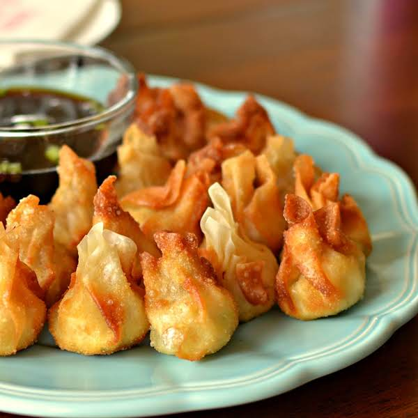 These Cream Cheese Wontons Are Filled With Cream Cheese, Chicken, Pepper Jack And A Perfect Blend Of Spices.