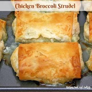 Chicken and Broccoli Strudel.