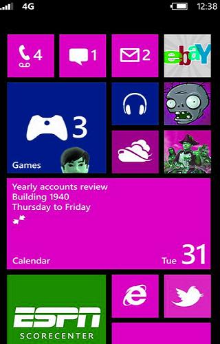 Lumia Launcher Tema