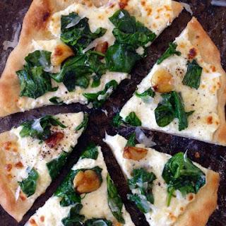 Ricotta Spinach Pizza