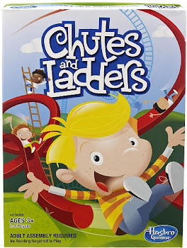 Hasbro Chutes and Ladders Board Game