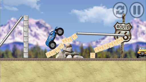 Monster Pickup Truck the monster jam kids games 7.8 screenshots 6