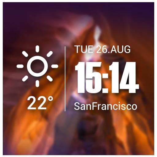 Live weather & Clock Widget - Apps on Google Play