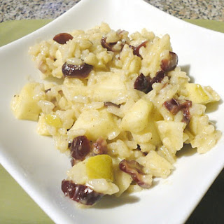 Gorgonzola Apple Cranberry Risotto