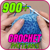 900+ Crochet Patterns